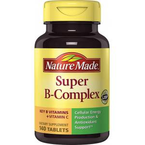 Nature Made Super B-Complex Plus Vitamin C Dietary Supplement (140 Tablets)