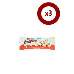 Kinder Bueno White 30 Gr 3'lü Set