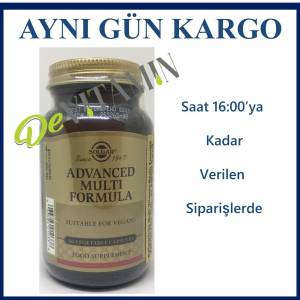 Solgar Advanced Multi Antioxidant Formula 60 Kapsül