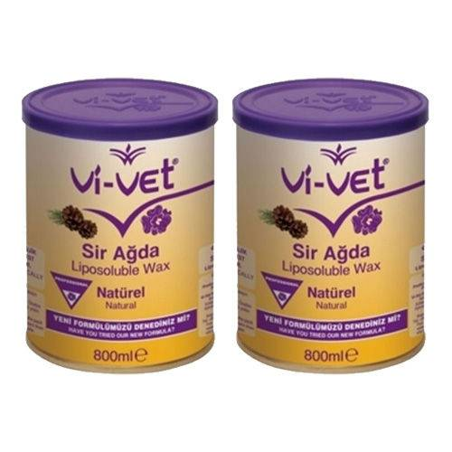 Vivet Konserve Sir Ağda Naturel Sarı 800 Ml x 2 Adet 451134265