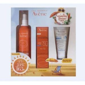 Avene Güneş Seti  Fluide SPF50  Spray 50  After Sun