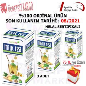 3 Kutu Naturpy Milk Tea 250 gr