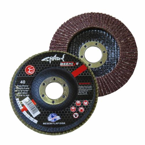 SHARK Flap Disk 115x22.2mm 40 Kum 451353260
