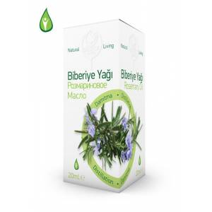 Biberiye Yağı - Rosemary Oil - 20 ML GEBECE