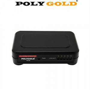 Polygold PG-540 Ethernet Switch 5 Port