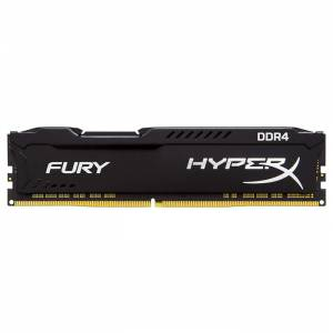Kingston HyperX Fury Black 4GB 1x4GB DDR4 2400MHz CL15 Ram - HX424C15FB4