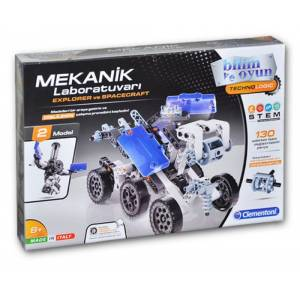 Clementoni Mekanik Laboratuvarı - Explorer ve Spacecraft 64997
