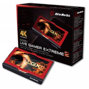 AVerMedia Live Gamer Extreme 2 USB3.1 Game Streaming and Video Capture