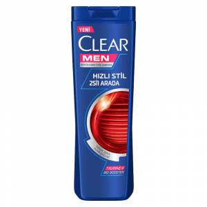 Clear Men Hizli Stil Şampuan 550 Ml