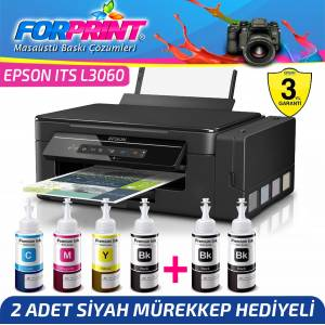 Epson ECOTANK ITS L3060 Photoink MÜREKKEPLİ YAZICI Wi-Fi Direct