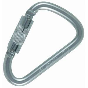 Ocun D-Carebiner Twist-Lock Steel Karabina