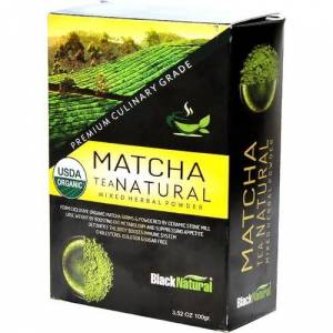 Black Natural MatchaMaça Çayı Tea Japon Çayı 100gr