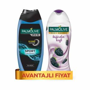 Palmolive Men Sport Erkek Duş Jeli 500 ml  Body Butter Böğürtlen 500 ml