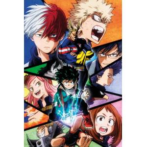MY HERO ACADEMIA GROUP MAXI POSTER İTHAL