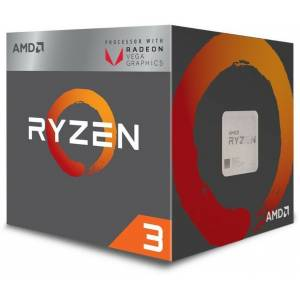 AMD Ryzen 3 2200G 3.5 GHz AM4 Soket 6MB Önbellek 65W 14nm İşlemci