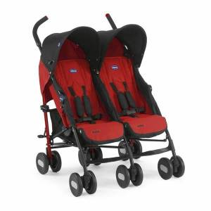 Chicco Echo İkiz Baston Bebek Arabası Garnet