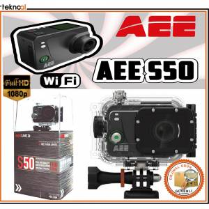 AEE S50 Aksiyon Kamerası 12 MP Full HD Wifi