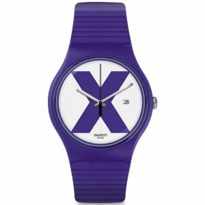 Swatch XX-RATED PURPLE SUOV401 Kadın Kol Saati