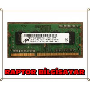 MICRON 2 GB DDR3 1333 MHZ LAPTOP NOTEBOOK RAM BELLEK
