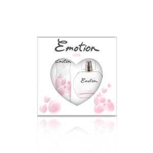 Emotion Love EDT Parfüm 50 ml  Deodorant 150 ml