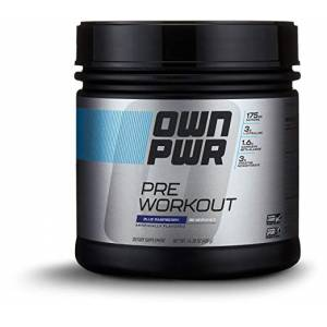 OWN PWR SPESİAL PreworkoutSPOR ÖNCESİ İÇİN 30 Serving BLUE RASPBERRY