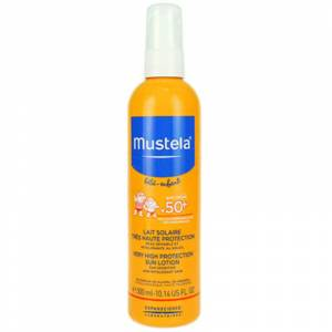 Mustela Very High Protection Sun Lotion Spf50 300ml