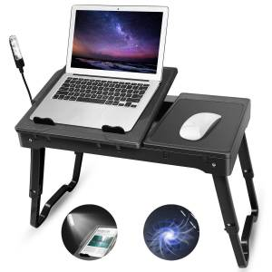 Laptop Stand for Bed-Moclever Multi-Functional Laptop Desk