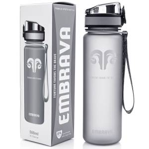 Best Sports Water Bottle - 18oz Small - Eco Friendly