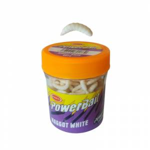 Power Bait 9954 Maggot White Kurt