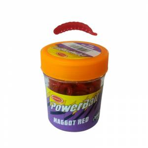 Power Bait 9955 Maggot Red Kurt