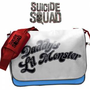Suicide Squad Daddy's Lil Monster Messenger Bag Çanta