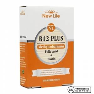 New Life B12 Plus 60 Dilaltı Tablet VISNE