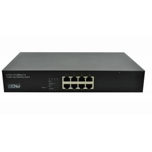 CNET 10/100Mbps 8xPort Fast Ethernet PoE 110W Switch CSH-8008P