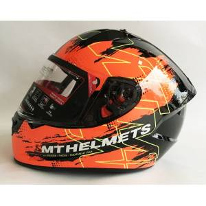 Mt Kask Mt Stinger Thesis F4 Gloss Black Orange