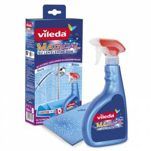 Vileda Magical Sistem Sprey 500 ml + Magic Super Microfiber Bez