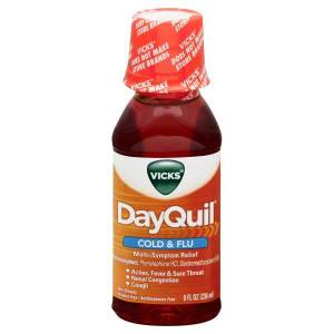 DayQuil Cold and Flu Relief Liquid 354 ml