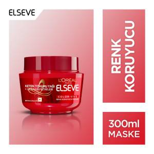L'Or�al Paris Elseve Colorvive Renk Koruyucu Maske 300 ml