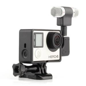 GoPro Hero 4 Hero 3 / 3+ için 3.5mm USB Mini Stereo Mikrofon