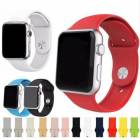 for APPLE WATCH 42 mm KORDON KAYIŞ , BİLEKLİK, SİLİKON MALZEME , Apple watch series 1-2-3 uyumlu