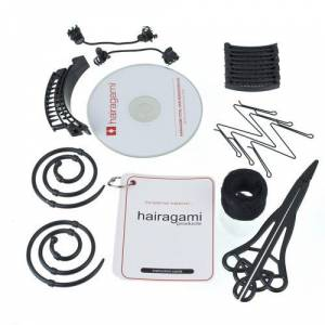 Saç Tasarım Seti - The Total Hair Makeover Kit Hairagami