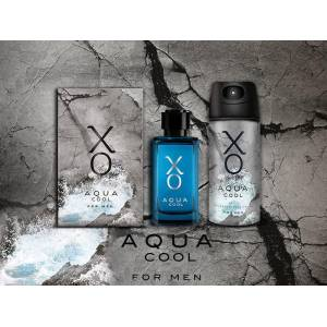 XO Aqua Cool Erkek Gift Set 100ml EDT 1205ml DEO