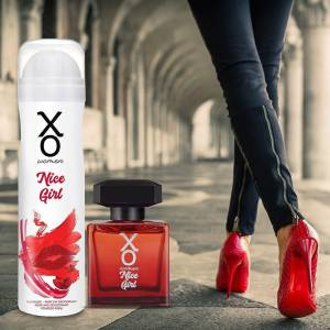 XO Nice Girl Kadın Gift Set 100ml EDT 1205ml DEO