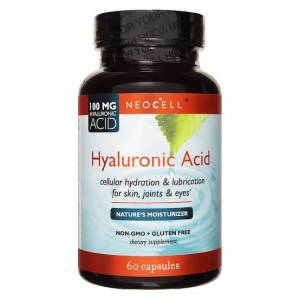 Neocell Hyaluronic Acid 100mg 60 Capsules Made in USA