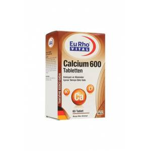 EuRho Vital Calcium 600mg Tabletten 60 Tablet