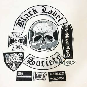 Black Label Society Set Yama Patch Rock