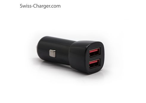 Swiss-Charger  SCH-30023 Dual USB Car Charger