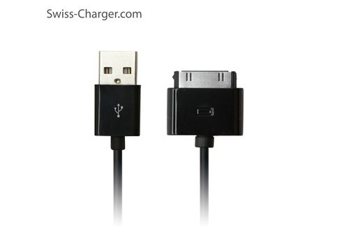 Swiss-Charger SCC-10002 Apple iPhone4-iPad 30Pin Kablo