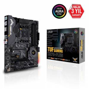 ASUS TUF GAMING X570-PLUS AM4 DDR4 SES GLAN DP/HDMI USB3.2 ATX Anakart
