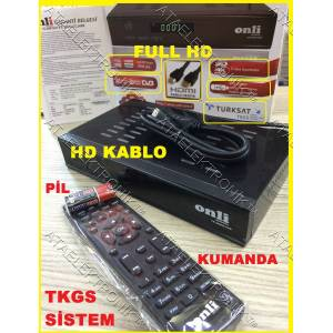 KASALI FULL HD UYDU ALICI CİHAZI RECEİVER LCD LED TV VE TÜPLÜ TV TELEVİZYON UYUM TKGS GÜNCELLEMELİ