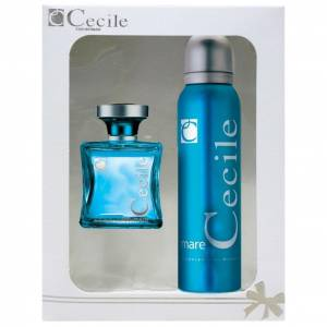 CECILE MARE EDT 100MLDEODORANT 150ML SET